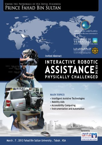 interactive robotic assistance for the physically challenged
