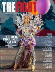 THE FIGHT CALIFORNIA'S LGBTQ MONTHLY MAGAZINE JUNE 2020