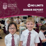 Donor Report December 2019