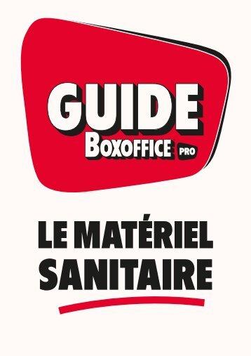 Guide Boxoffice Pro _ Le matériel sanitaire