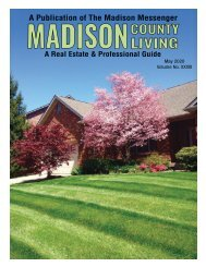 Madison County Living - May 2020