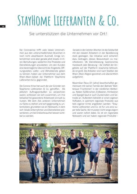 Wirtschafts-News I 2020 Rheinhessen