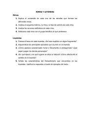 RIMAS Y LEYENDAS Rimas 1. Explica el contenido ... - Escola xarXa