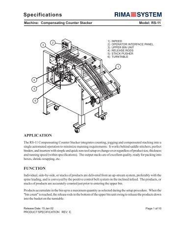 specifications rh yumpu com Heidelberg Rima Heidelberg Rima