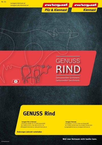 Genuss Rind Katalog