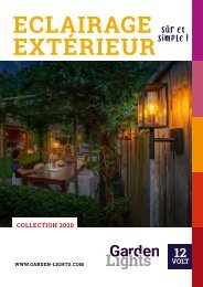 Garden Lights - Catalogue FR