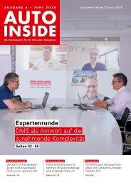 AUTOINSIDE Ausgabe 6 – Juni 2020