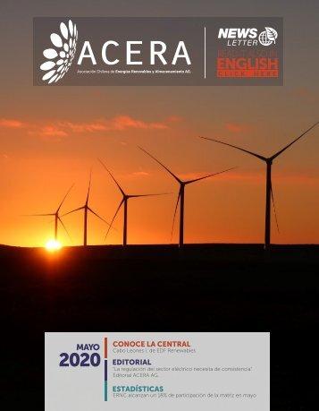Newsletter ACERA - Mayo 2020
