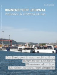 Binnenschiff Journal 3/2020