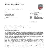 Gemeinde Rimbach/Odw.