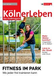 KölnerLeben Juni / Juli 2020