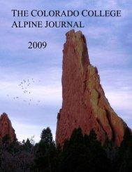 2009 edition - Colorado College