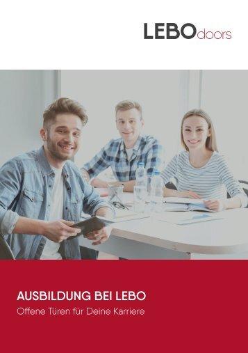 Ausbildung bei LEBO - Türen auf für Deine Karriere
