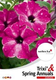 selecta Trixi Spring Annuals SE-HELLAS 2021
