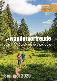 #wandervorfreude – Sommer 2020