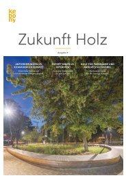 ZUKUNFT HOLZ Ausgabe 2/2020 - Stadtmöbel
