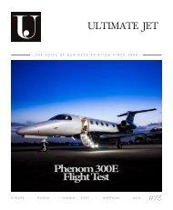 Ultimate Jet #73 - Phenom 300E Flight Test