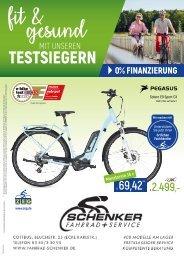 Fahrrad-Schenker Prospekt Juni 2020