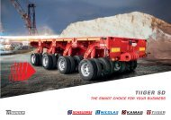 TIIGER Smart Duty I modular transporter I Brochure