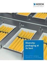 KOCH machine brochure consumer products EN