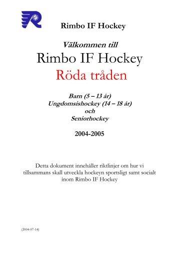 5 – 13 år - Rimbo IF
