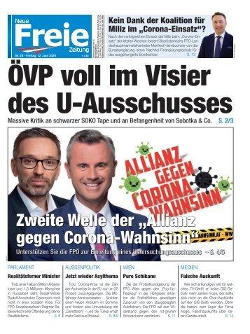 ÖVP voll im Visier des U-Ausschusses