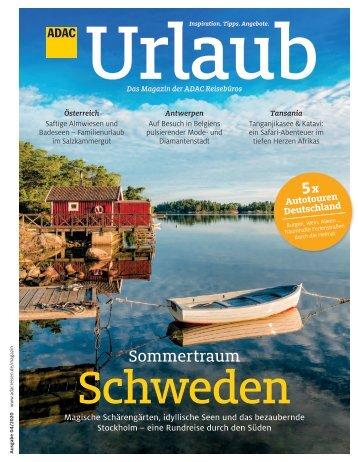 ADAC Urlaub Juli-Ausgabe 2020 Überregional