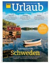 ADAC Urlaub Juli-Ausgabe 2020 Württemberg