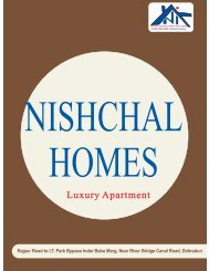 Luxury Apartment - NISHCHAL InfraDevelopers