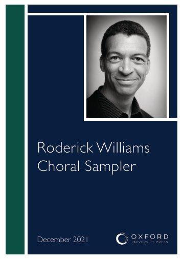 Roderick Williams choral sampler
