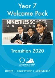 Ninestiles Transition Booklet 2020