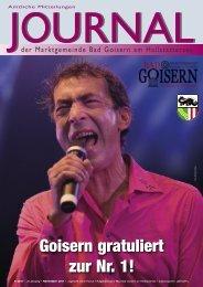 JOURNAL - Bad Goisern
