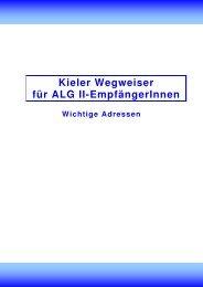 Kieler Wegweiser für ALG-II-EmpfängerInnen