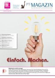 E-Paper PT-Magazin 05 2020 Einfach Machen