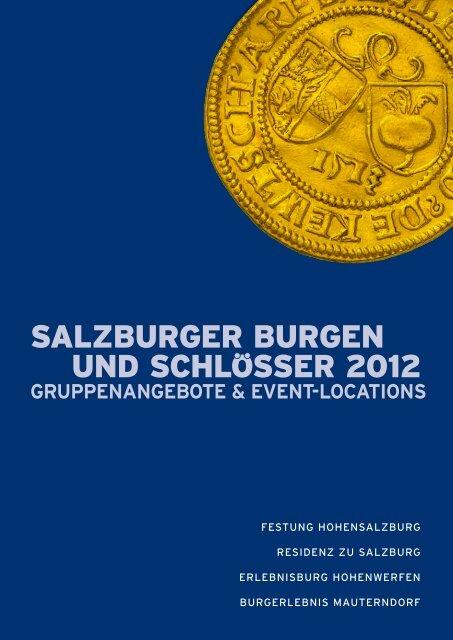 Gruppenprogramm 2012 zum Downloaden - Salzburgs Burgen und ...