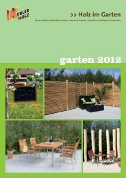 garten 2012 www.gartenholz.com - Holz-Scholbeck
