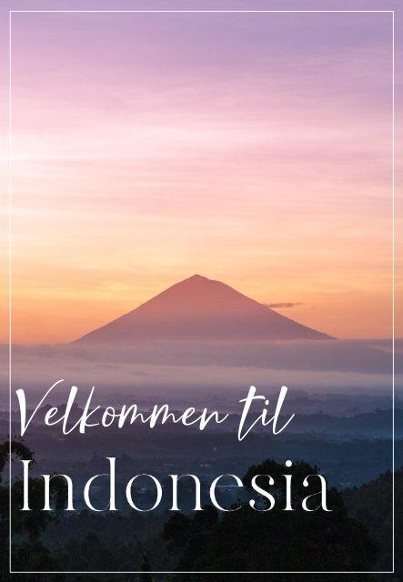 Velkommen til Indonesia