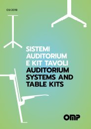 OMP Group - Auditorium Systems and Table Kits