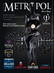 Metropol Dergisi 53. Antalya Film Festivali