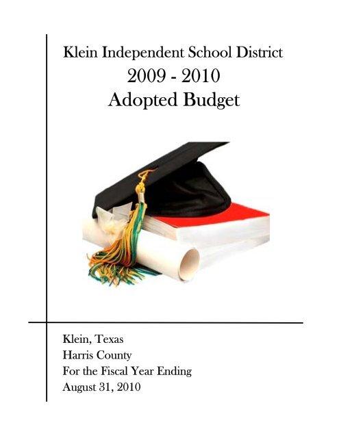 Huntsville City Schools Calendar 2022 23.2009 2010 Klein Independent School District