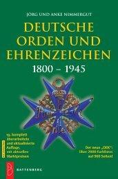deutsche orden und ehrenzeichen 1800 - Gietl Verlag