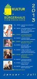 J a n u a r - J u l i - Gemeinde Schwieberdingen
