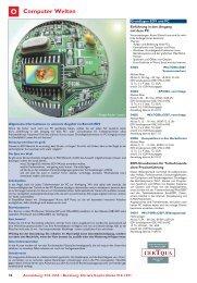 Computer Welten O - Volkshochschule Bochum