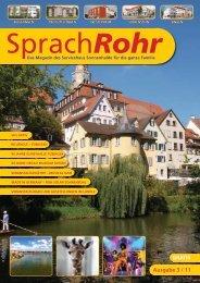 Ausgabe 3/11 PDF herunterladen - Servicehaus Sonnenhalde