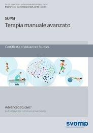 CAS Terapia manuale Avanzato