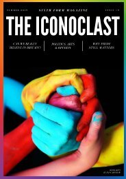 The Iconoclast Summer 2019