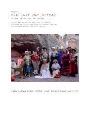 Die Zeit der Ritter - Regio Pamina