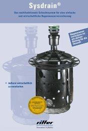 Sysdrain® - Ritter GmbH