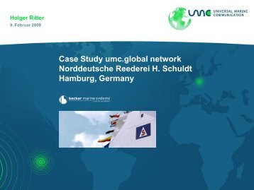 Holger Ritter, UMC.pdf - Digital Ship