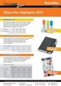 BrandNeu Ritter-Pen Highlights 2010 - kolibri GmbH - Page 2
